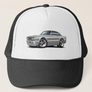 1967 Belvedere Grey Car Trucker Hat