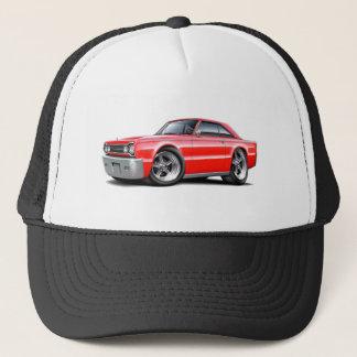 1967 Belvedere Red Car Trucker Hat