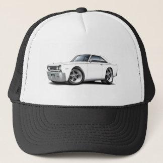 1967 Belvedere White Car Trucker Hat