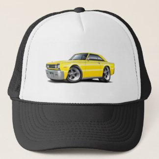 1967 Belvedere Yellow Car Trucker Hat