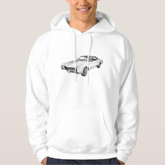 1967 Buick Riviera Illustration Hoodie