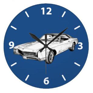 Muscle Car Wall Clocks Zazzle