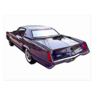 1967 Cadillac Eldorado Postcard