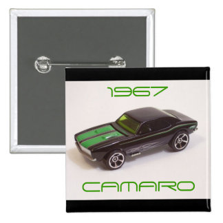 1967 Camaro Pinback Button
