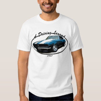1967 CAMARO RS SS BLUE T-Shirt