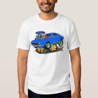 1967 Camaro SS Blue Car T-Shirt