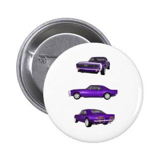 1967 Camaro SS: Button