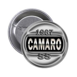 1967 Camaro SS Pinback Button