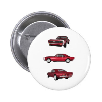 1967 Camaro SS: Pinback Button