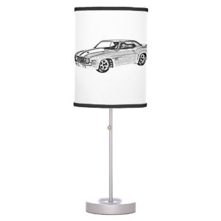 1967 Camaro Z28 Table Lamp