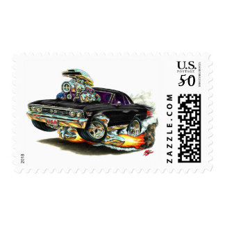 1967 Chevelle Black Car Postage