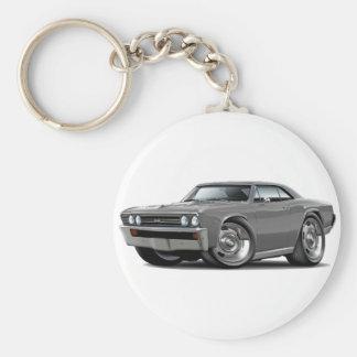 1967 Chevelle Grey Car Key Chains