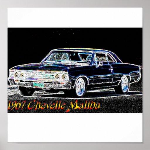 1967_chevelle_malibu póster