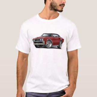 1967 Chevelle Maroon Black Top