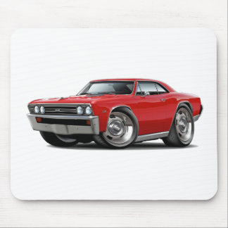 1967 Chevelle Red Car Mouse Pad