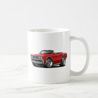 1967 Chevelle Red Convertible Classic White Coffee Mug