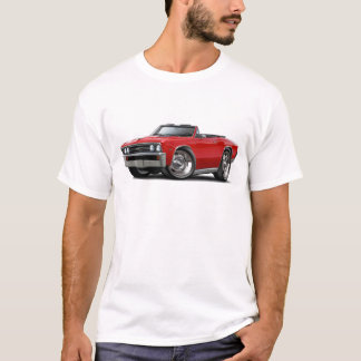 1967 Chevelle Red Convertible T-Shirt