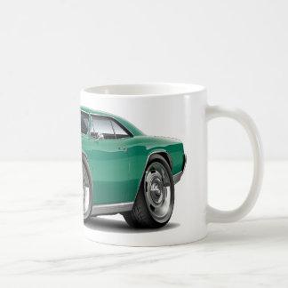 1967 Chevelle Teal Car Classic White Coffee Mug