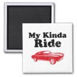 1967 Chevrolet Camaro SS 396 Fridge Magnet