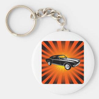 1967 Chevrolet Camaro SS 396 Basic Round Button Keychain