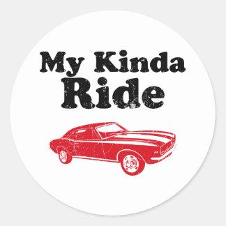1967 Chevrolet Camaro SS 396 Sticker