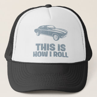 1967 Chevrolet Camaro SS 396 Trucker Hat