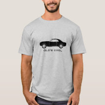 1967 Chevy Camaro (black) - Old's Cool T-Shirt