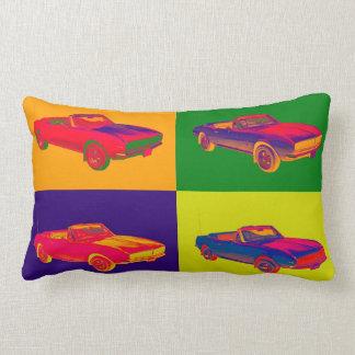 1967 Chevy Camaro RS Convertible Pop Art Lumbar Pillow