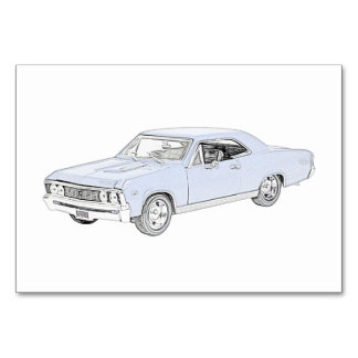 1967 Chevy Chevelle Card