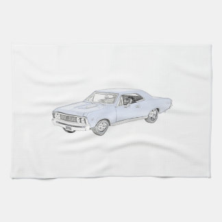 1967 Chevy Chevelle Hand Towels