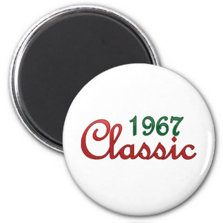 1967 Classic 2 Inch Round Magnet