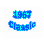 1967 Classic Blue Postcard