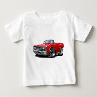 1967 Coronet RT Red Convertible Baby T-Shirt