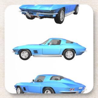 1967 Corvette C2: Beverage Coaster