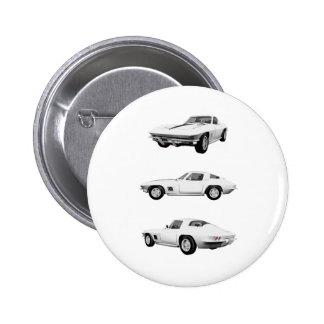 1967 Corvette C2: Button