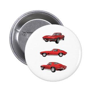 1967 Corvette C2 Button