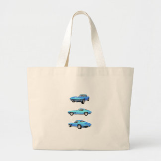 1967 Corvette C2: Large Tote Bag