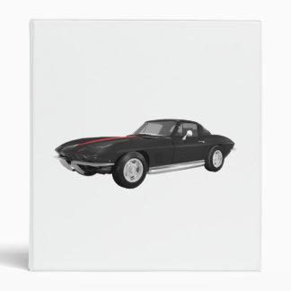1967 Corvette Sports Car: Black Finish: Binder