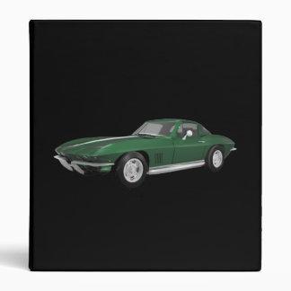 1967 Corvette Sports Car: Green Finish: Binder
