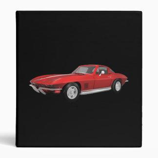 1967 Corvette Sports Car: Red Finish: Binder