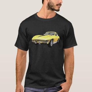 1967 Corvette Sports Car: Yellow Finish T-Shirt