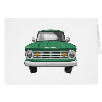 1967 Dodge Fargo Truck Card