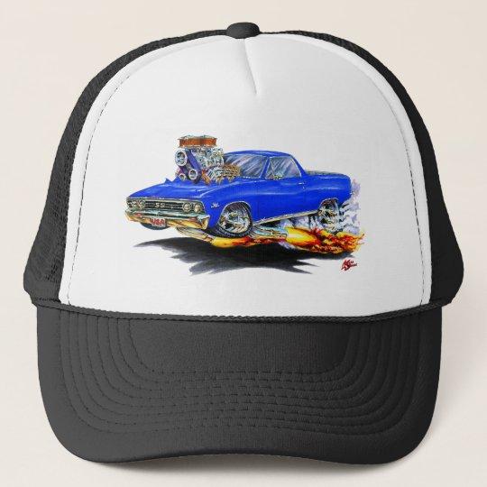 1967 El Camino Blue Truck Trucker Hat