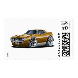 1967 Firebird Brown Car Postage