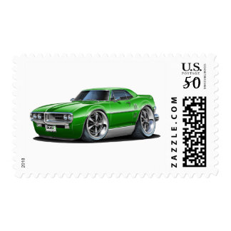 1967 Firebird Green Car Postage