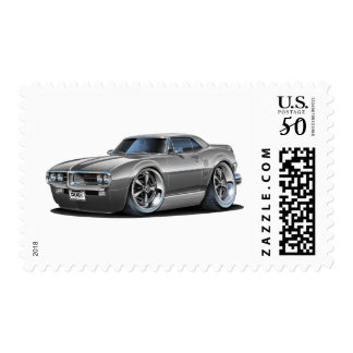 1967 Firebird Grey Car Postage