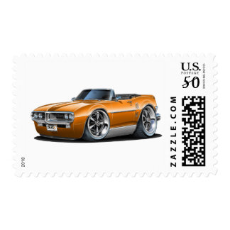 1967 Firebird Orange Convertible Postage