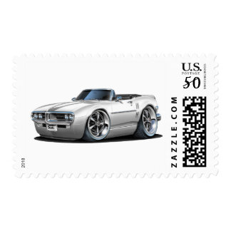 1967 Firebird White Convertible Postage