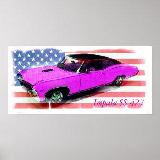 1967 Impala SS 427 Poster