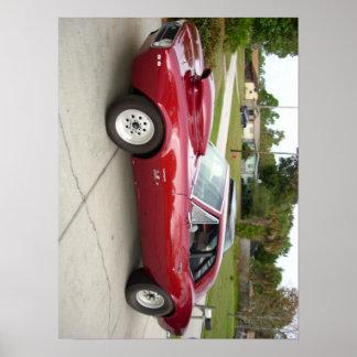 1967 llama SS rojos 396 Camaro Impresiones